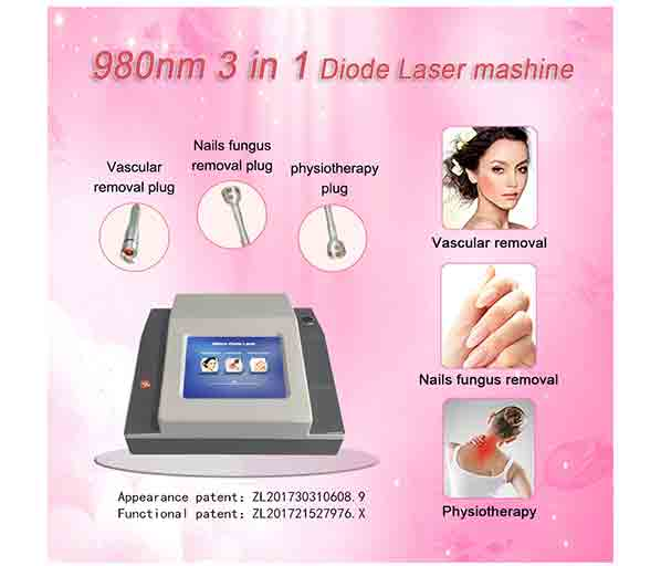 980nm 3 in 1 Diodo Laser